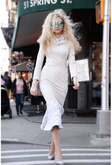 Anastasiia Ivanova Street Style New York