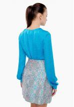 Блуза атлассная