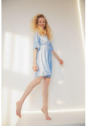 Домашнее платье-рубашка