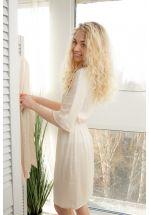 Домашнее шeлковое платье
