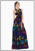 Эксклюзивное длинное платье