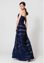 Эксклюзивное платье-бюстье из жаккарда