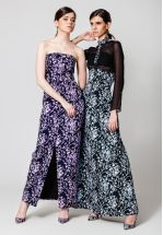 Эксклюзивное платье-комбинезон из жаккарда