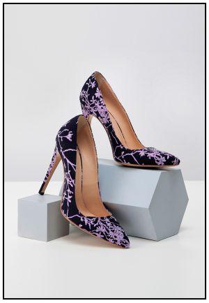 Эксклюзивные туфли в цвете аметист