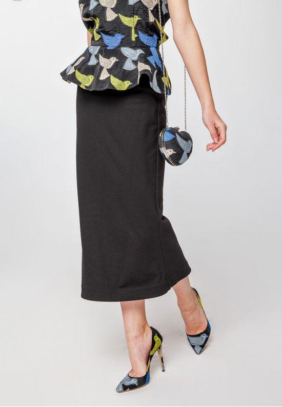 Элегантный корсет-жакет с полуоткрытой спиной