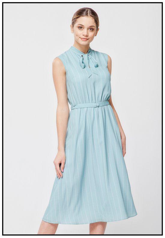 Нежное платье цвета Tiffany