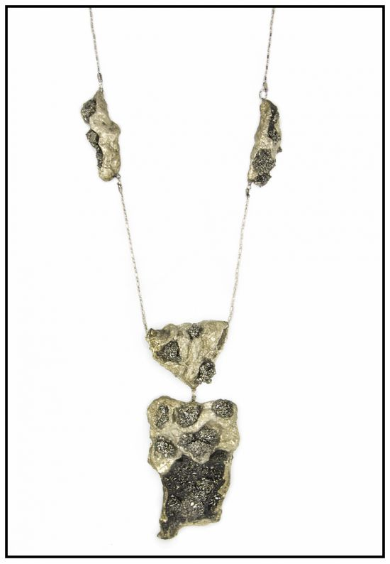 Ожерелье Гроздья пирита