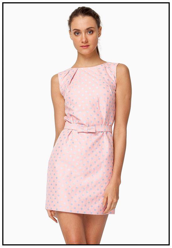 Платье мини футляр
