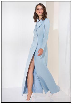 Платье-жакет в пол