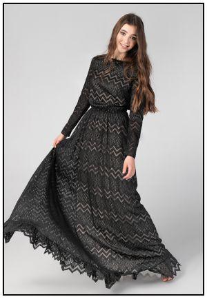 Роскошное вечернее платье в пол