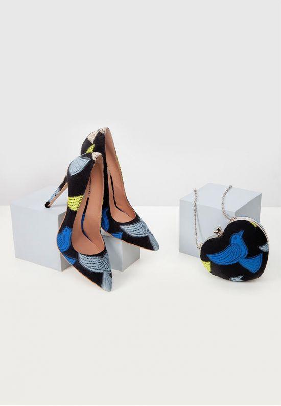 Туфли эксклюзивные птицы