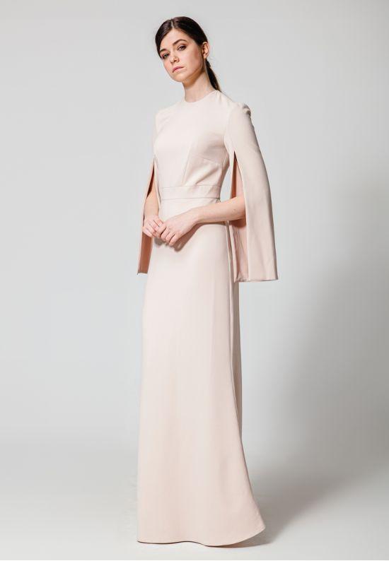 Вечернее элегантное платье в пол