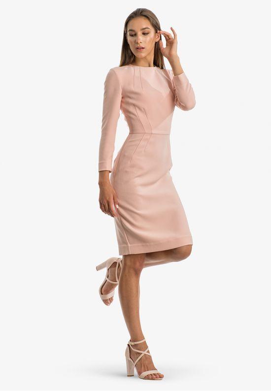 Женственное деловое платье